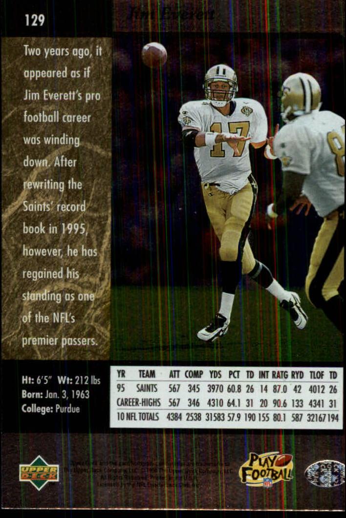 1996-SP-Football-Singles-1-188-Your-Choice-GOTBASEBALLCARDS thumbnail 233