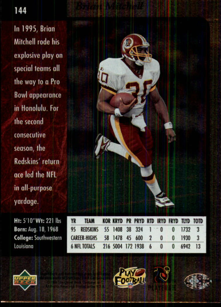 1996-SP-Football-Singles-1-188-Your-Choice-GOTBASEBALLCARDS thumbnail 261