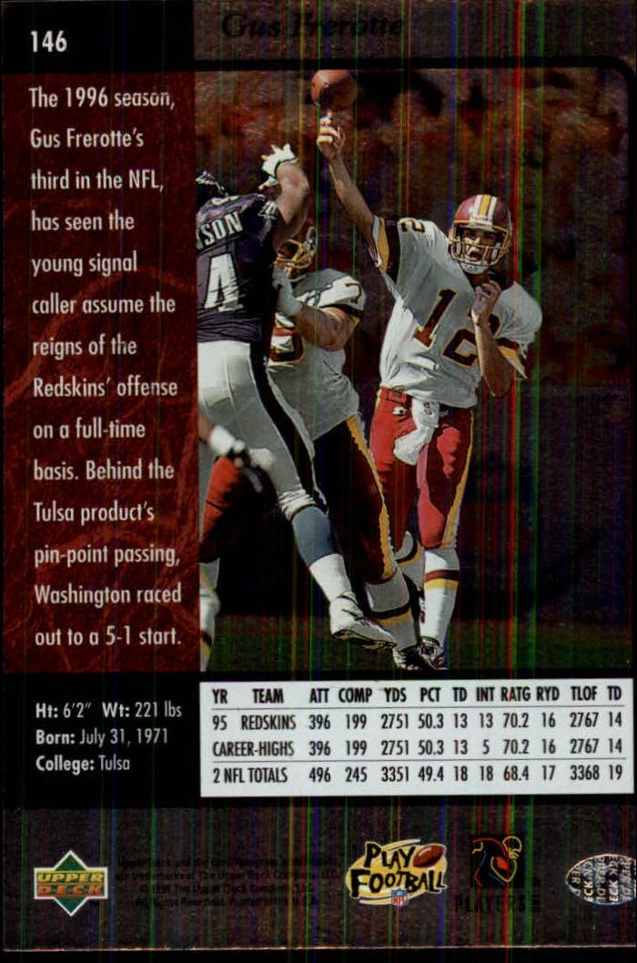 1996-SP-Football-Singles-1-188-Your-Choice-GOTBASEBALLCARDS thumbnail 265