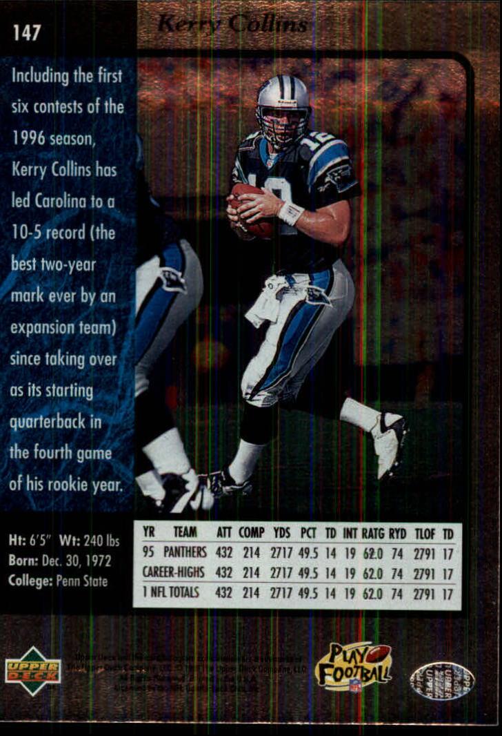1996-SP-Football-Singles-1-188-Your-Choice-GOTBASEBALLCARDS thumbnail 267