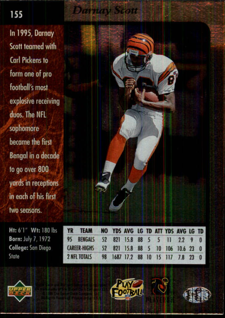 1996-SP-Football-Singles-1-188-Your-Choice-GOTBASEBALLCARDS thumbnail 281