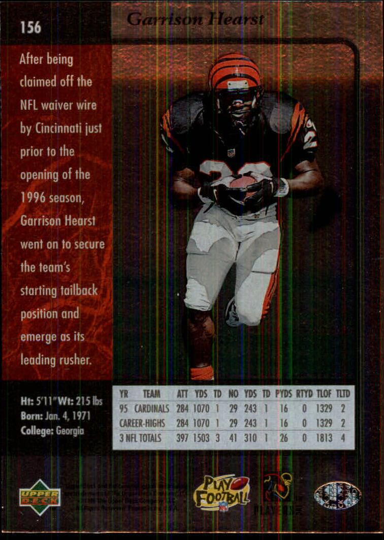 1996-SP-Football-Singles-1-188-Your-Choice-GOTBASEBALLCARDS thumbnail 283