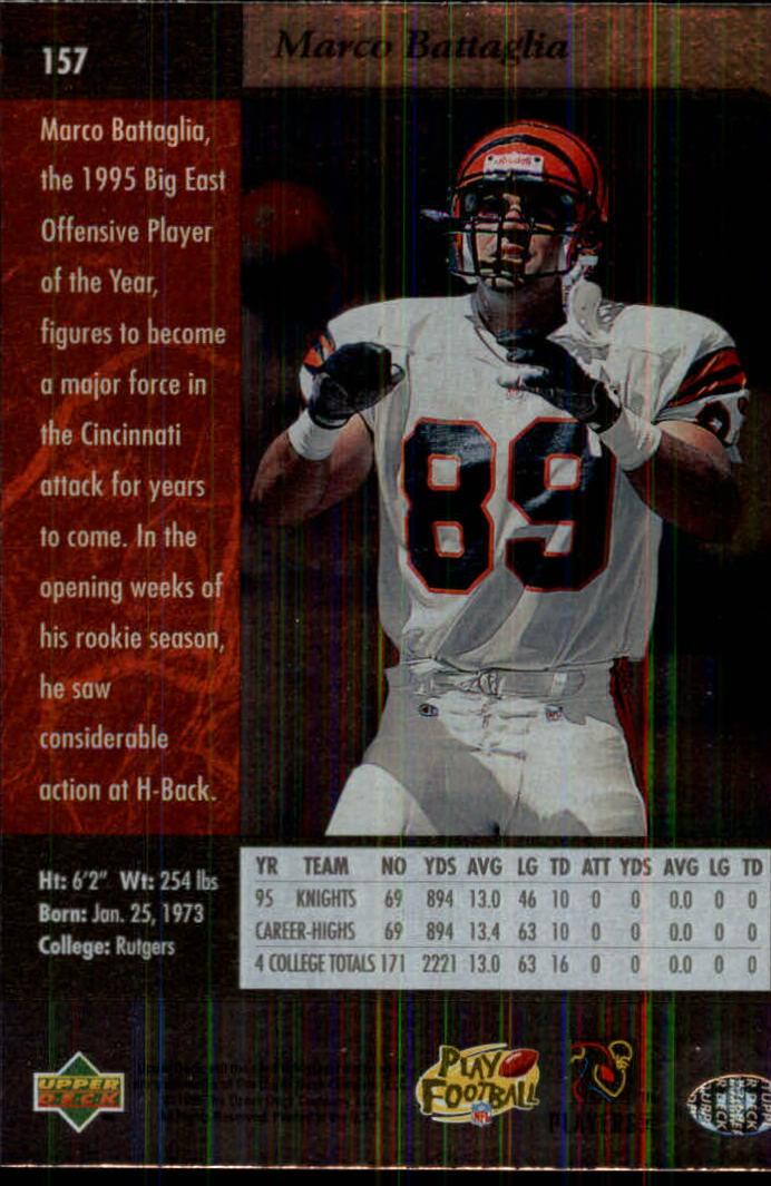 1996-SP-Football-Singles-1-188-Your-Choice-GOTBASEBALLCARDS thumbnail 285