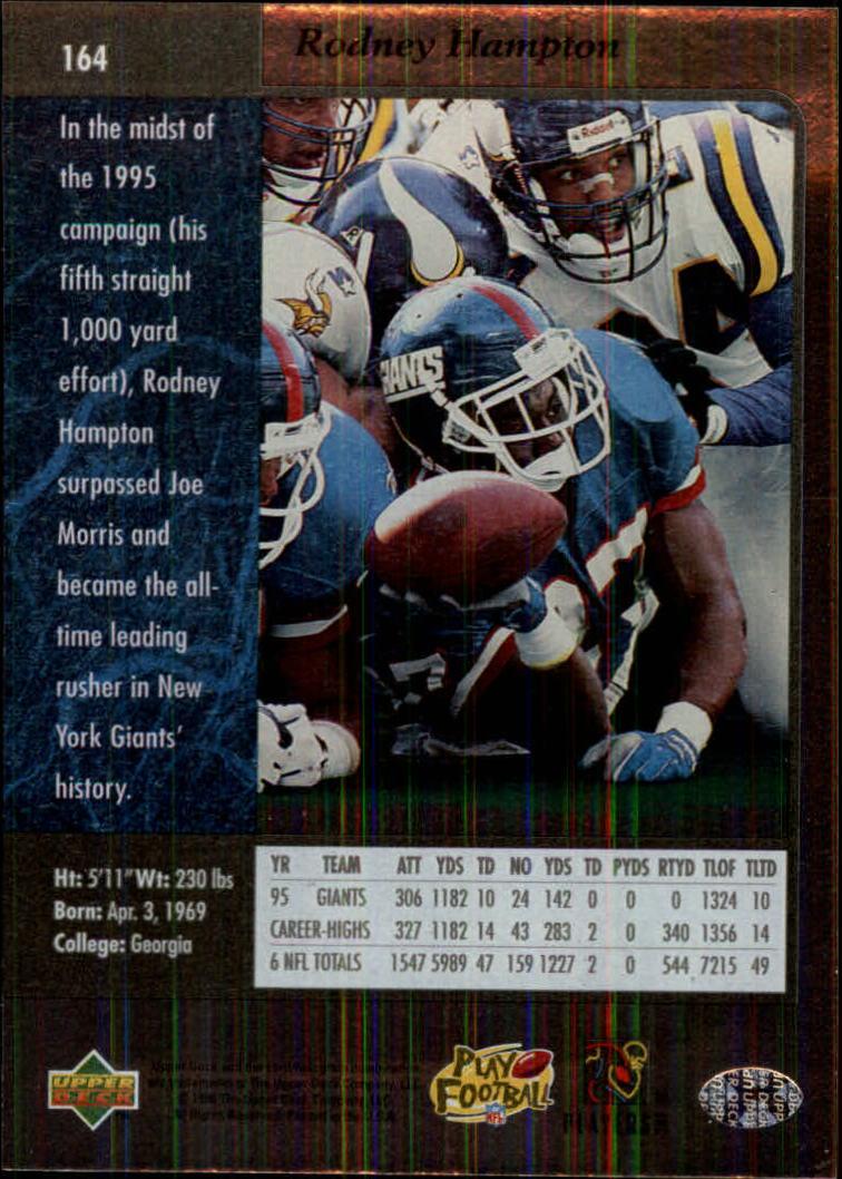 1996-SP-Football-Singles-1-188-Your-Choice-GOTBASEBALLCARDS thumbnail 297