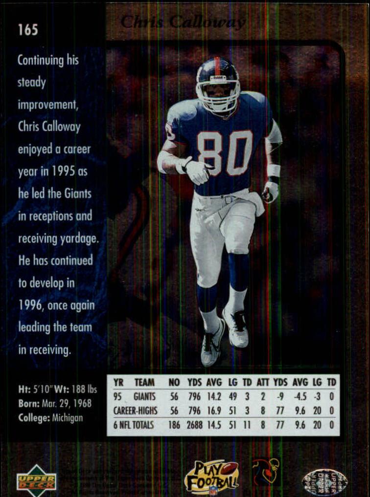 1996-SP-Football-Singles-1-188-Your-Choice-GOTBASEBALLCARDS thumbnail 299