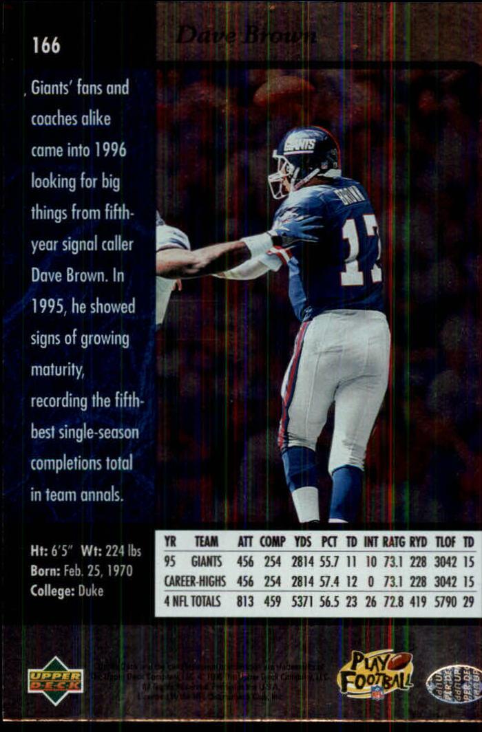 1996-SP-Football-Singles-1-188-Your-Choice-GOTBASEBALLCARDS thumbnail 301