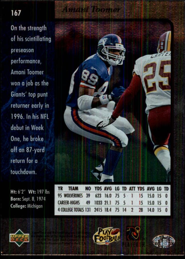 1996-SP-Football-Singles-1-188-Your-Choice-GOTBASEBALLCARDS thumbnail 303