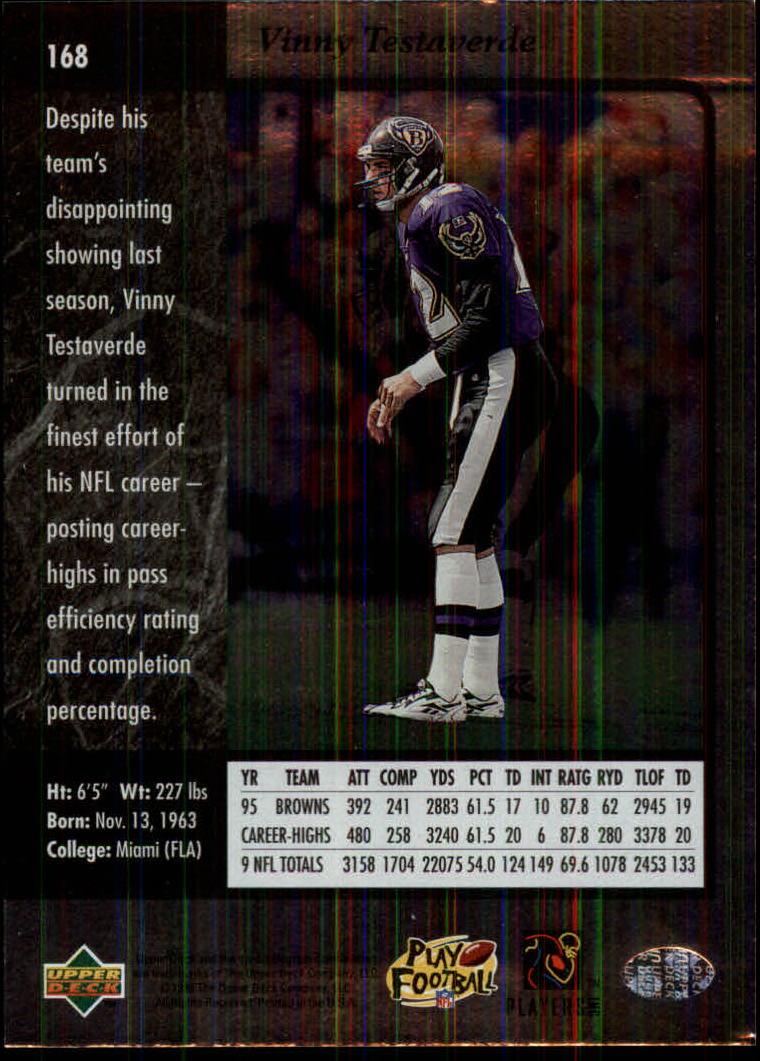 1996-SP-Football-Singles-1-188-Your-Choice-GOTBASEBALLCARDS thumbnail 305
