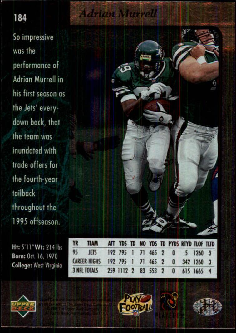 1996-SP-Football-Singles-1-188-Your-Choice-GOTBASEBALLCARDS thumbnail 337