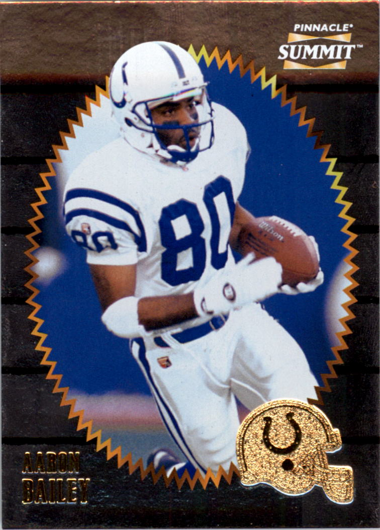 1996 Summit Silver Foil #134 Aaron Bailey