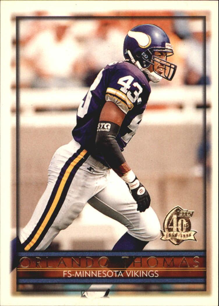 1996 Topps #15 Orlando Thomas