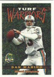 1996 Topps Turf Warriors #TW18 Dan Marino