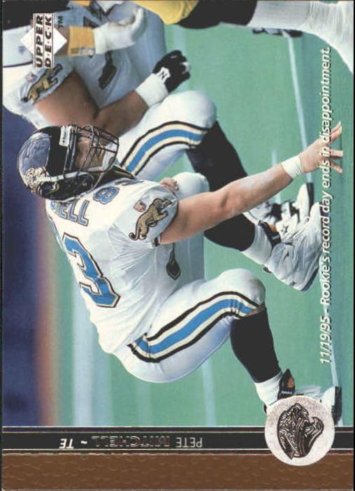 1996 Upper Deck #164 Pete Mitchell