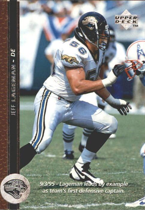 1996 Upper Deck #194 Jeff Lageman
