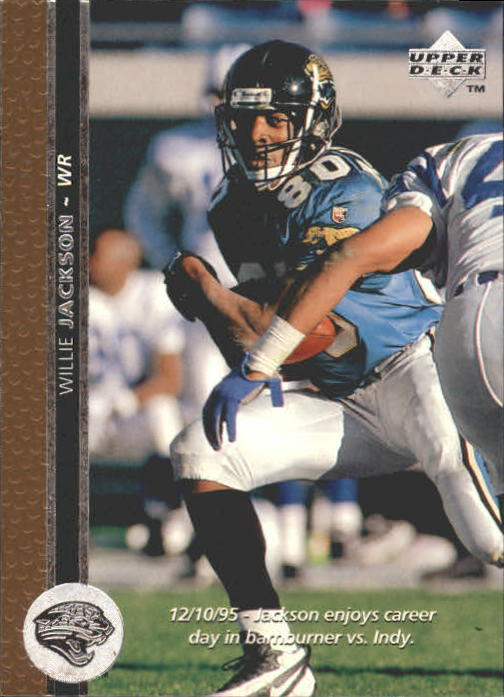 1996 Upper Deck #255 Willie Jackson