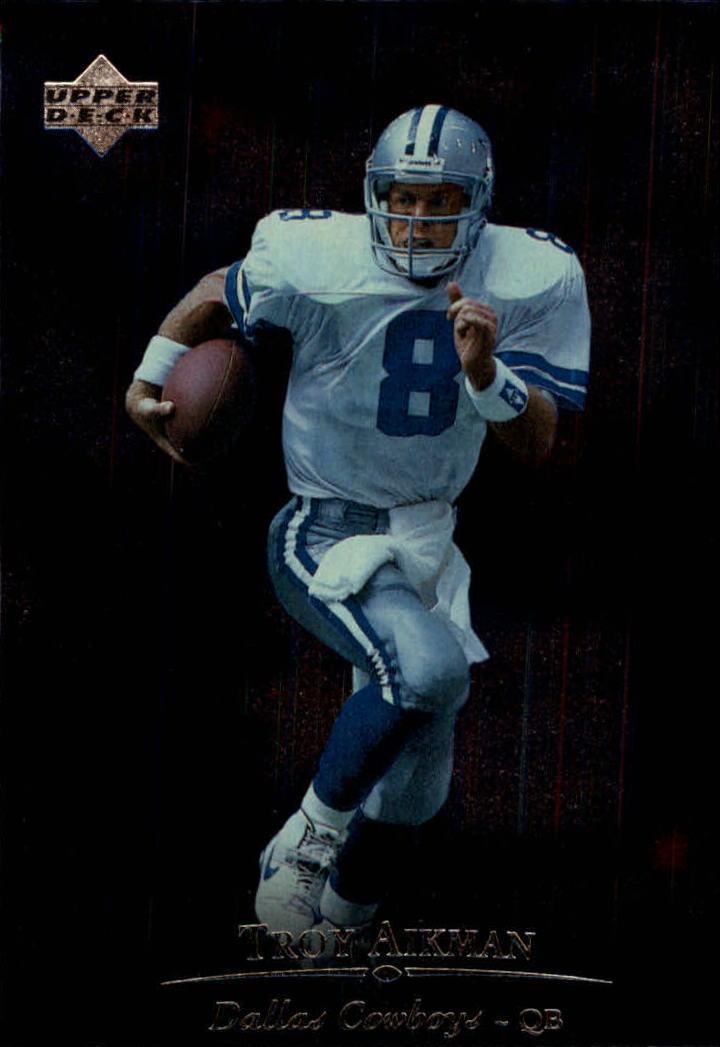 1996 Upper Deck Silver #38 Troy Aikman