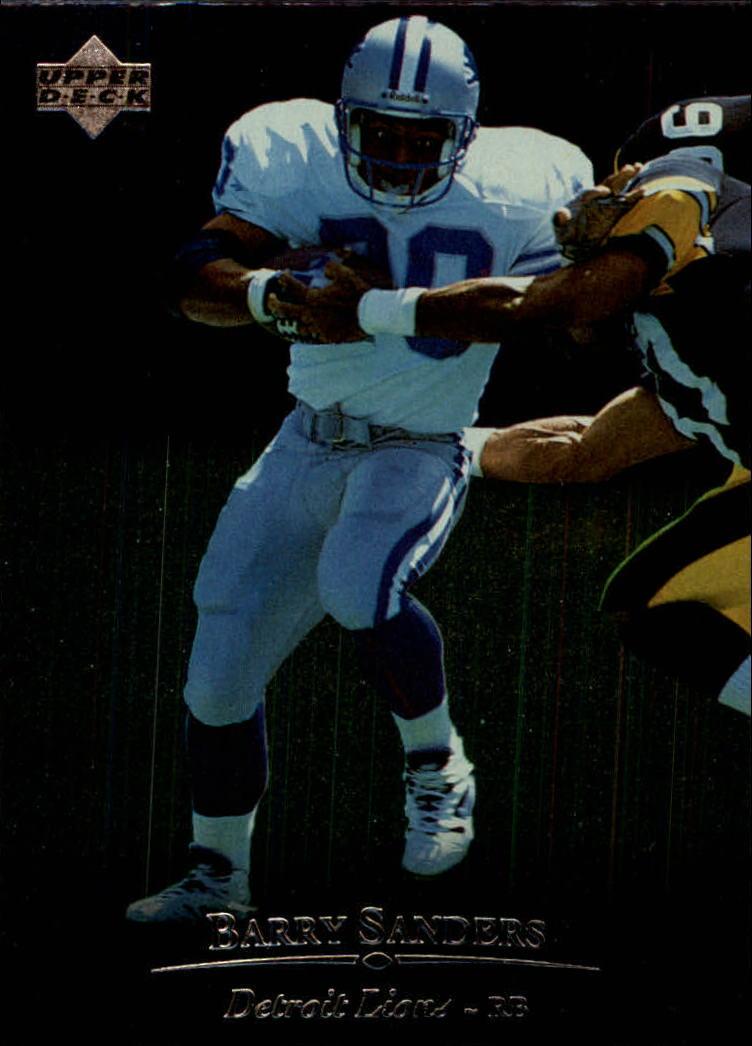 1996 Upper Deck Silver #130 Barry Sanders