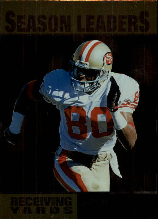 1996 Upper Deck Silver #218 Jerry Rice SL