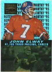 1996 Zenith Noteworthy '95 #11 John Elway