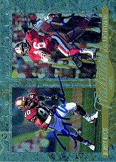 1997 SP Authentic Traditions #TD3 Jerry Rice/Joe Montana
