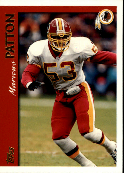 1997 Topps #228 Marvcus Patton