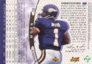 1997 Upper Deck Game Jerseys #GJ1 Warren Moon back image