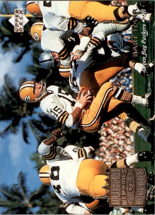 1997 Upper Deck Legends #180 Bart Starr/Daryle Lamonica SM