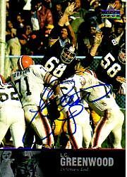 1997 Upper Deck Legends Autographs #AL108 L.C. Greenwood