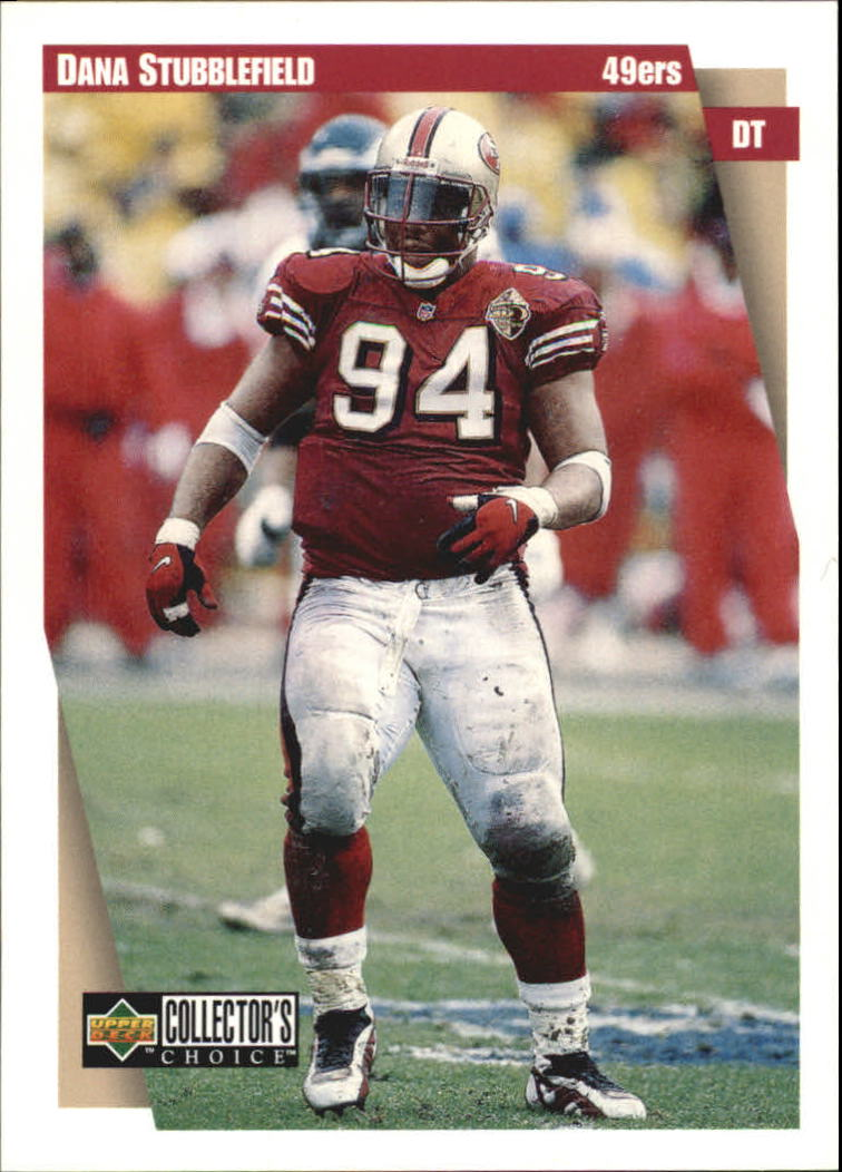 1997 49ers Collector's Choice #SF1 Dana Stubblefield