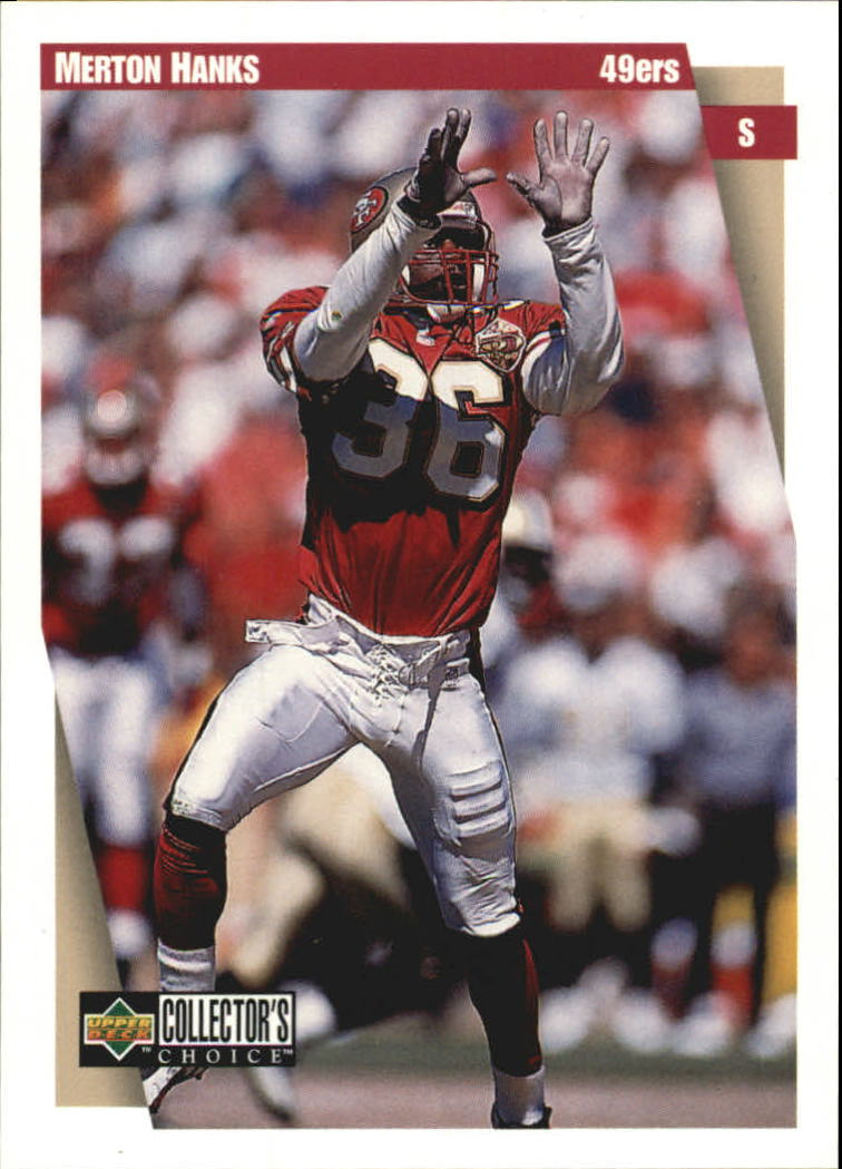 1997 49ers Collector's Choice #SF2 Merton Hanks