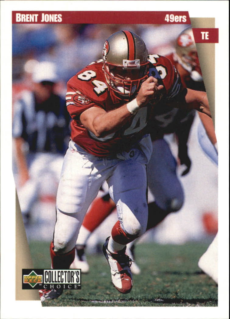 1997 49ers Collector's Choice #SF4 Brent Jones