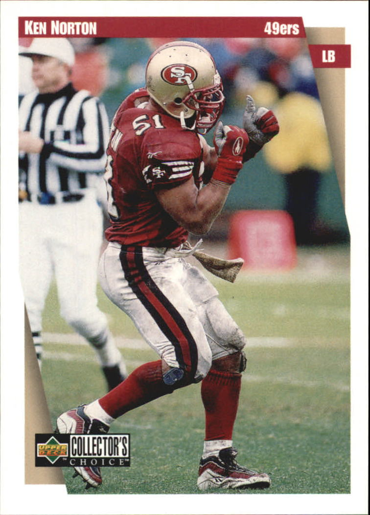 1997 49ers Collector's Choice #SF5 Ken Norton Jr.