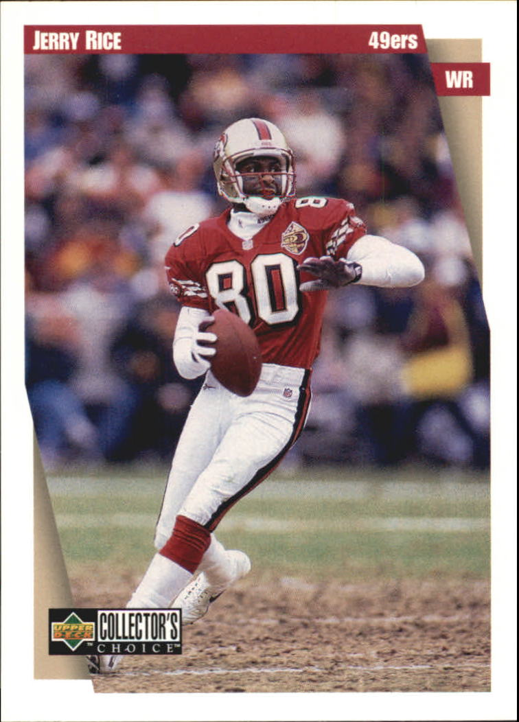 1997 49ers Collector's Choice #SF6 Jerry Rice
