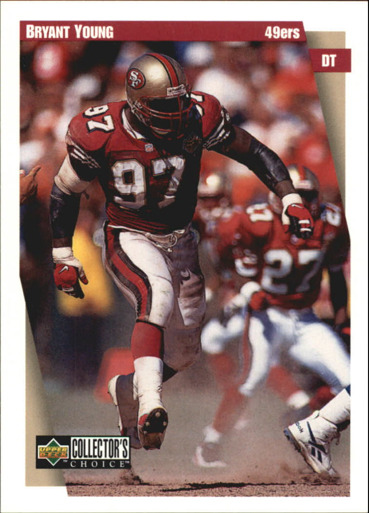 1997 49ers Collector's Choice #SF8 Bryant Young