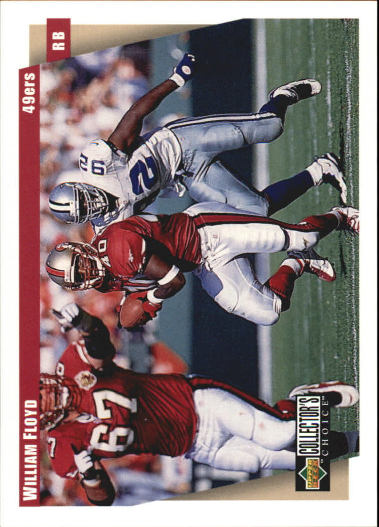 1997 49ers Collector's Choice #SF10 William Floyd