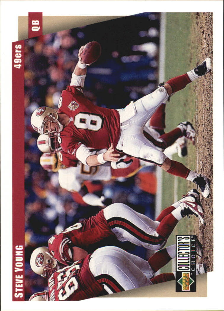 1997 49ers Collector's Choice #SF11 Steve Young