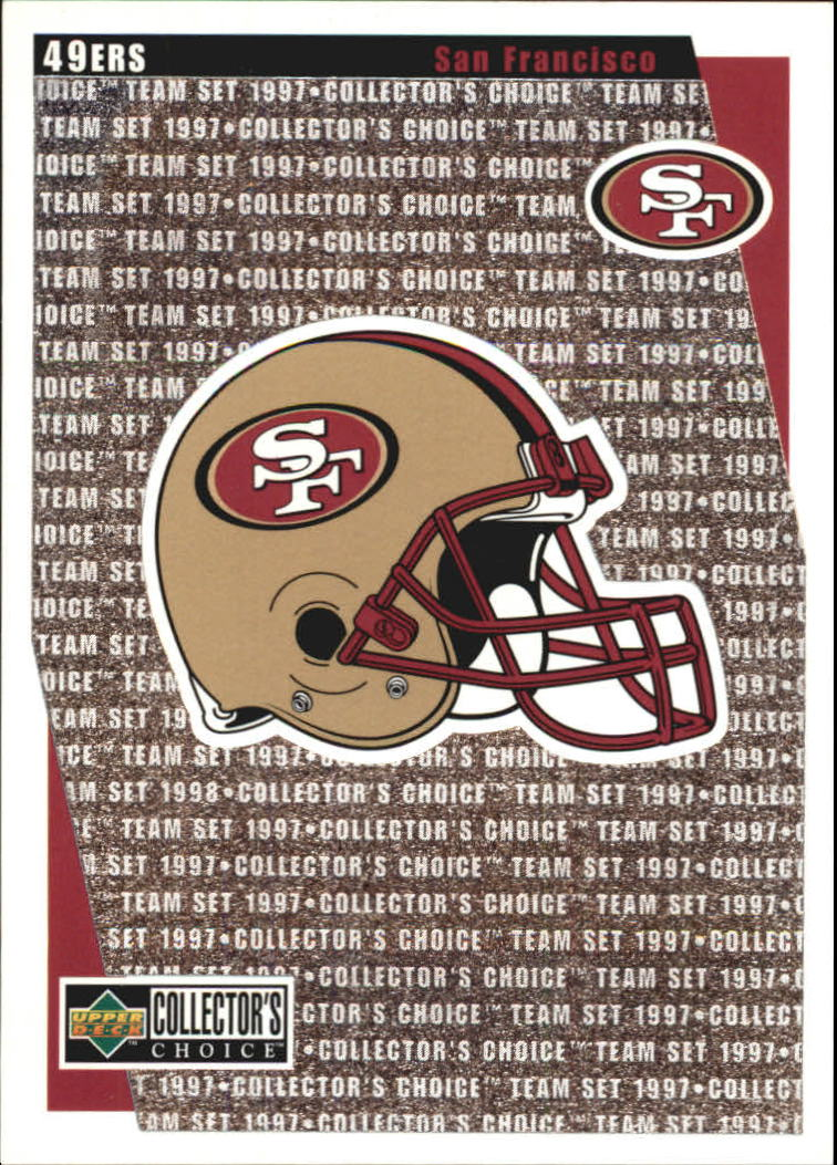 1997 49ers Collector's Choice #SF14 49ers Logo/Checklist
