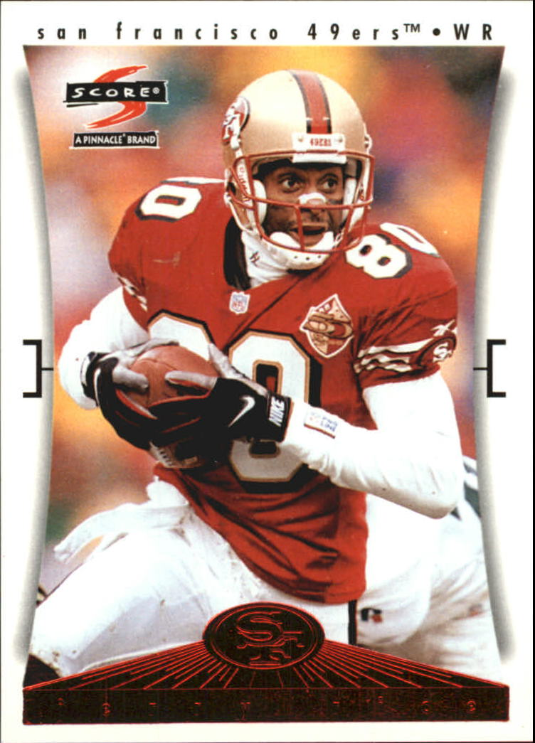 1997 49ers Score #1 Jerry Rice