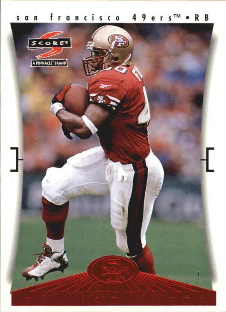 1997 49ers Score #8 William Floyd