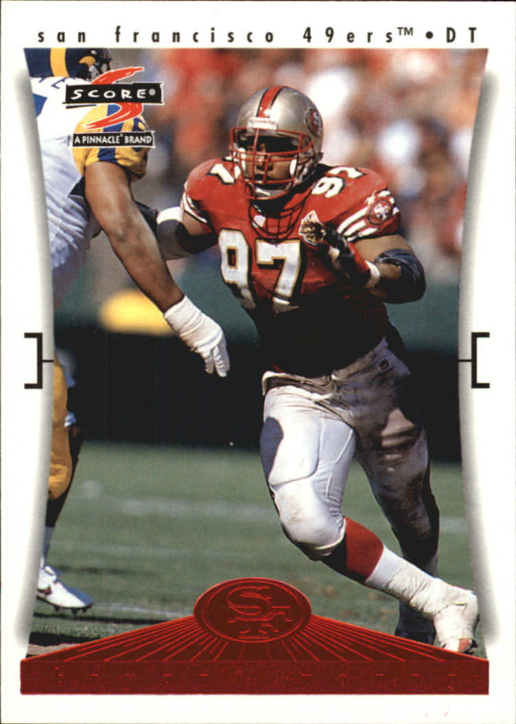 1997 49ers Score #10 Bryant Young