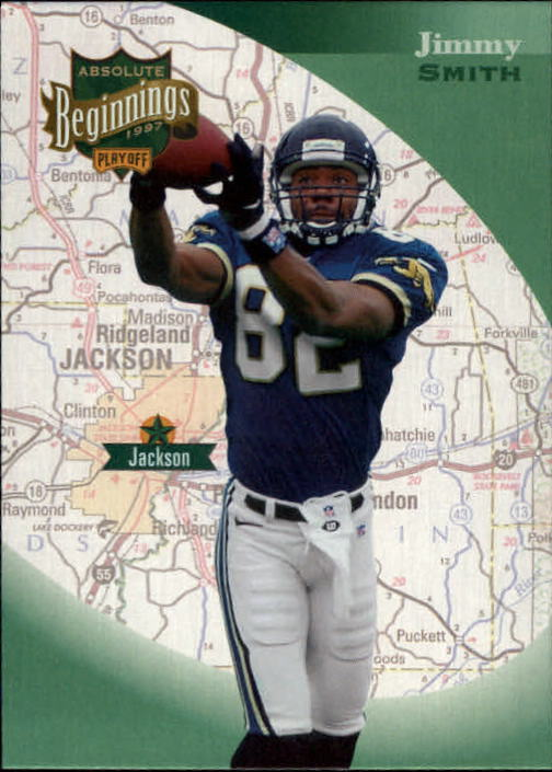 1997 Absolute #61 Jimmy Smith