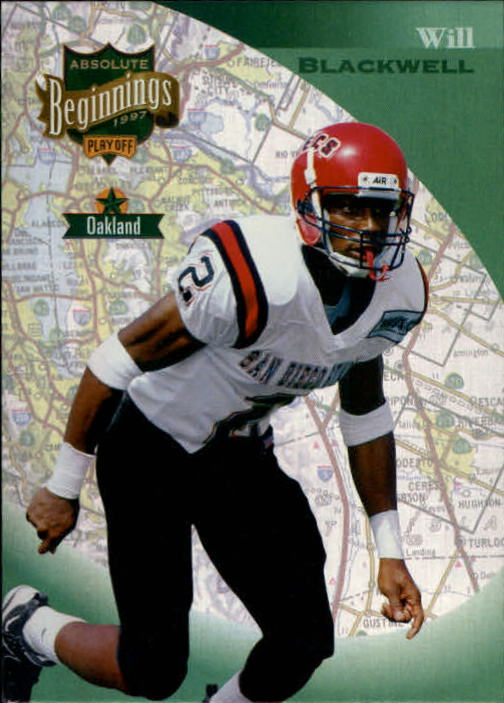 1997 Absolute #70 Will Blackwell RC