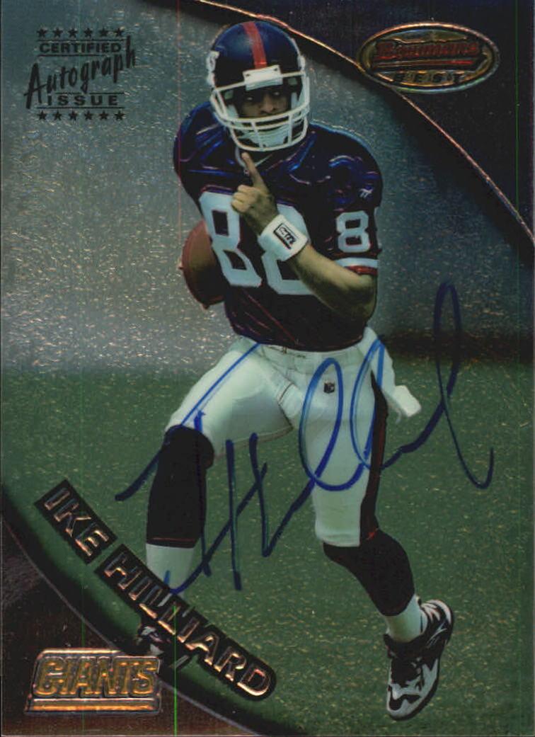 1997 Bowman's Best Autographs #121 Ike Hilliard