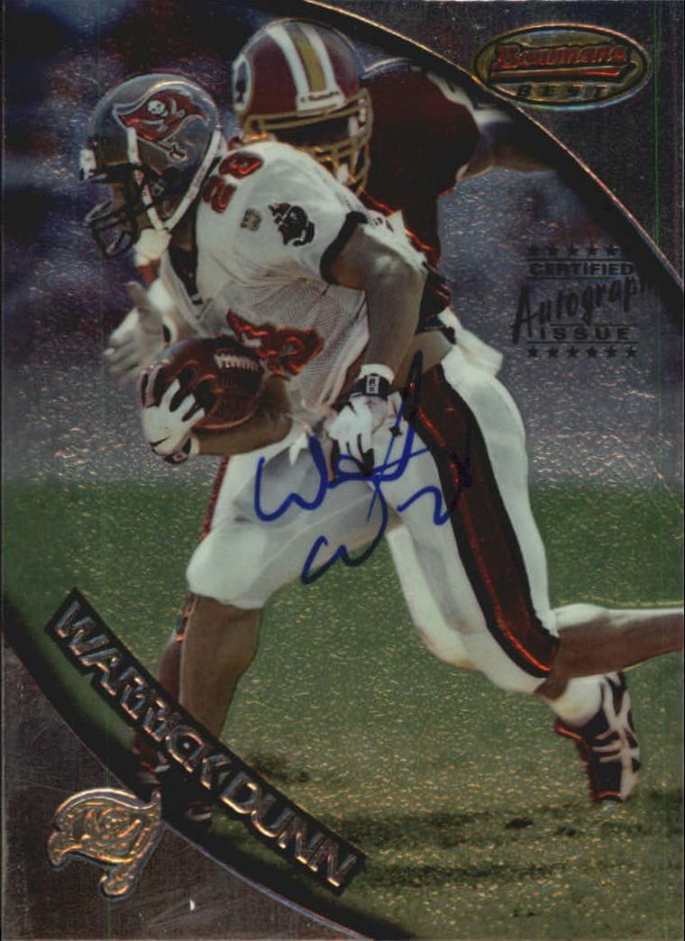 1997 Bowman's Best Autographs #125 Warrick Dunn