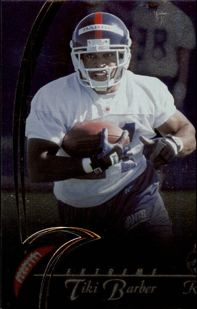 1997 Collector's Edge Extreme Foil #P112 Tiki Barber DC