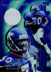 1997 Collector's Edge Extreme Game Gear Quads #7S Terrell Davis Shoes