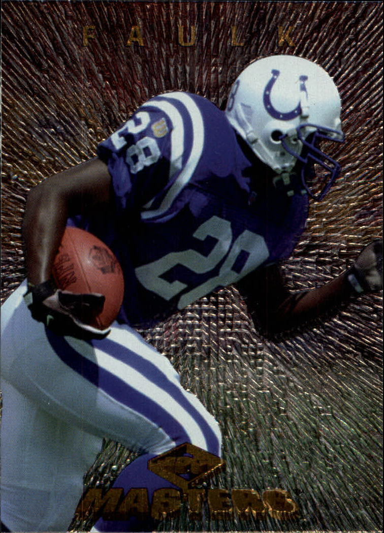 1997 Collector's Edge Masters #115 Marshall Faulk