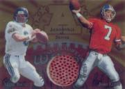 1997 Collector's Edge Masters Playoff Game Ball #6 Mark Brunell/John Elway