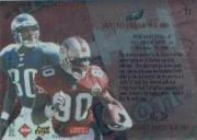 1997 Collector's Edge Masters Playoff Game Ball #12 Jerry Rice/Irving Fryar back image
