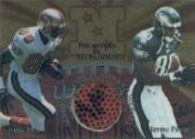 1997 Collector's Edge Masters Playoff Game Ball #12 Jerry Rice/Irving Fryar